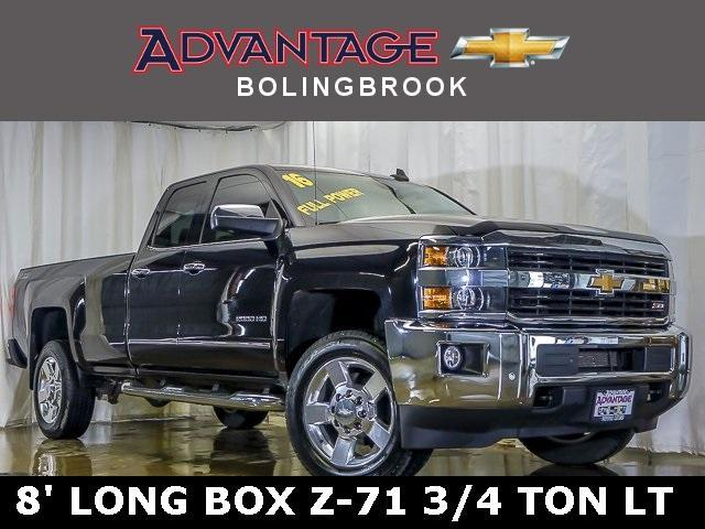 Pre-Owned 2016 Chevrolet Silverado 2500HD Double Cab Long Box 4-Wheel Drive LTZ