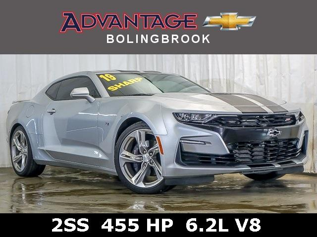 Pre-Owned 2019 Chevrolet Camaro 2dr Coupe 2SS