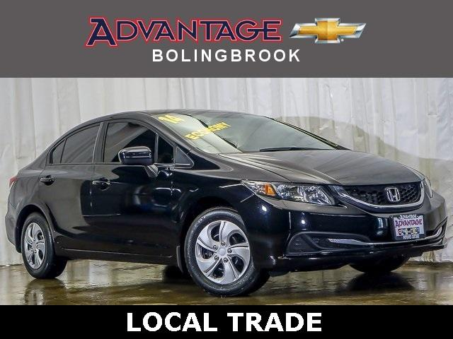 Pre-Owned 2014 Honda Civic Sedan LX CVT