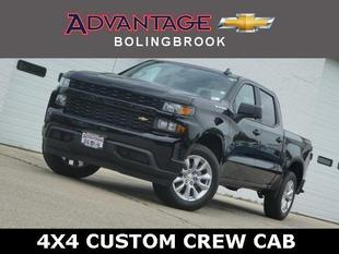 New 2019 Chevrolet Silverado 1500 Crew Cab Short Box 4-Wheel Drive Custom
