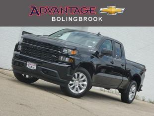 New 2019 Chevrolet Silverado 1500 Double Cab Standard Box 4-Wheel Drive Custom