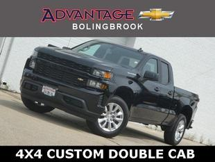 New 2020 Chevrolet Silverado 1500 Double Cab Standard Box 2-Wheel Drive Custom