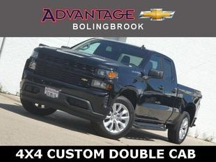 New 2020 Chevrolet Silverado 1500 Double Cab Standard Box 4-Wheel Drive Custom