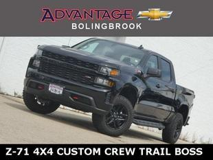 New 2020 Chevrolet Silverado 1500 Crew Cab Short Box 4-Wheel Drive Custom Trail Boss