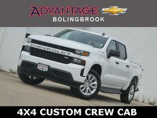 New 2020 Chevrolet Silverado 1500 Crew Cab Short Box 4-Wheel Drive Custom
