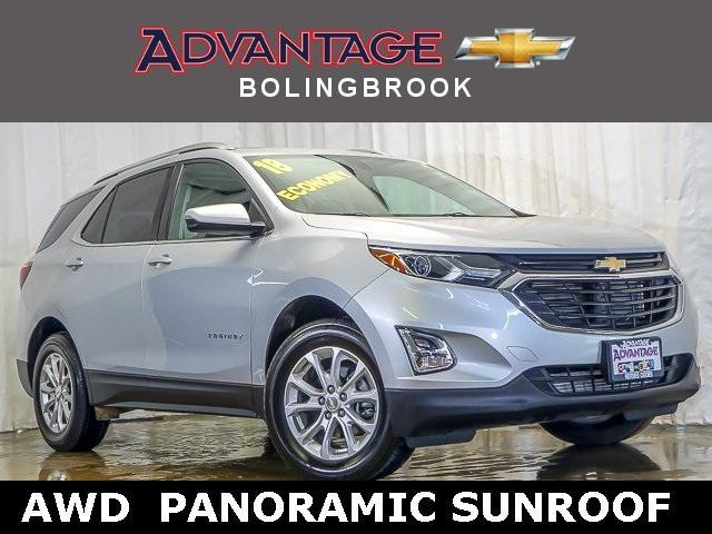 Certified Pre-Owned 2018 Chevrolet Equinox AWD LT