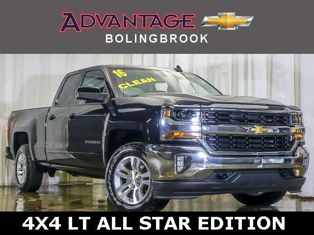 Pre-Owned 2016 Chevrolet Silverado 1500 Double Cab Standard Box 4-Wheel Drive LT