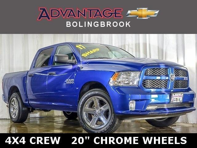 Pre-Owned 2017 Ram 1500 Express 4x4 Crew Cab 5'7