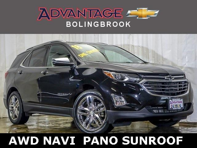 Certified Pre-Owned 2018 Chevrolet Equinox AWD Premier