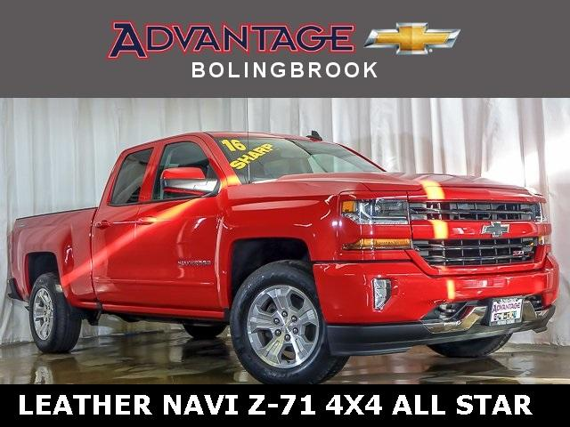 Pre-Owned 2016 Chevrolet Silverado 1500 Double Cab Standard Box 4-Wheel Drive LT Z71