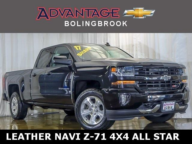 Pre-Owned 2017 Chevrolet Silverado 1500 Double Cab Standard Box 4-Wheel Drive LT Z71