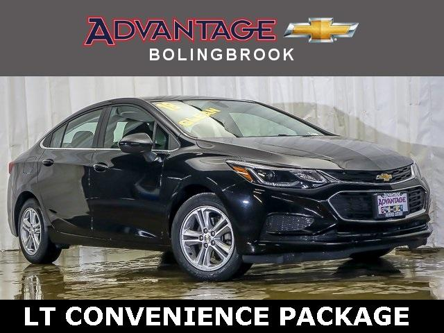 Pre-Owned 2018 Chevrolet Cruze Sedan LT (Automatic)