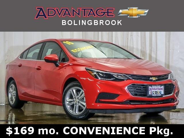 Pre-Owned 2016 Chevrolet Cruze Sedan LT (Automatic)