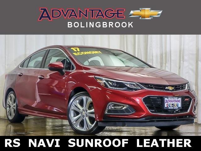 Pre-Owned 2017 Chevrolet Cruze Sedan Premier