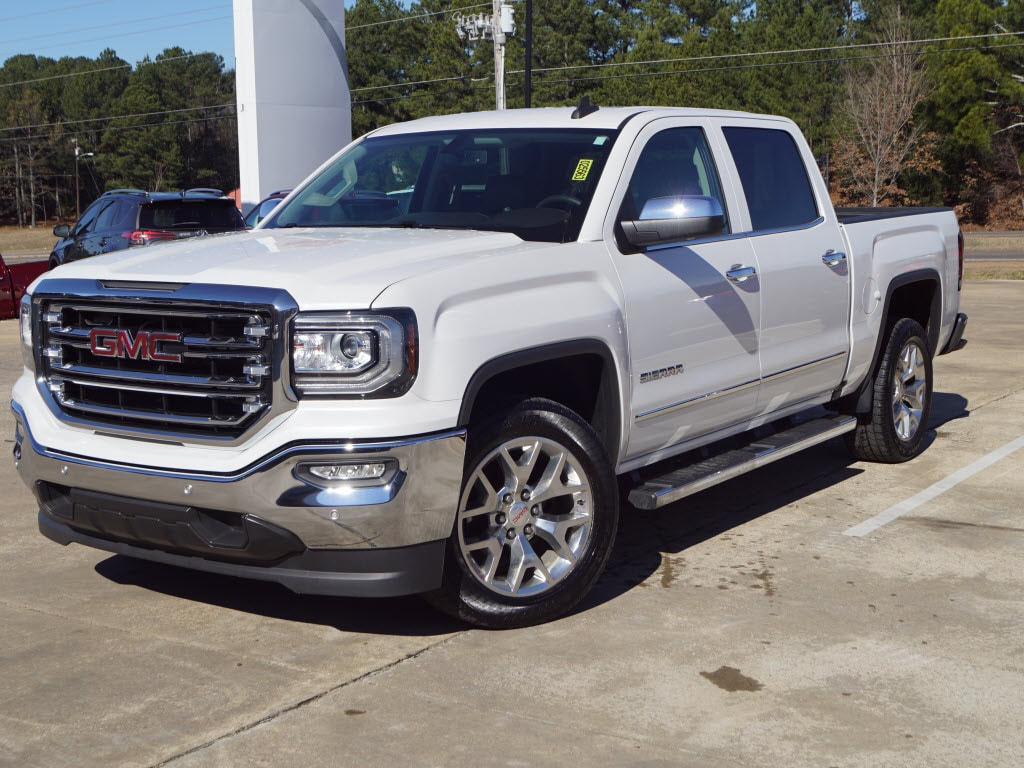 Used 2017 GMC Sierra 1500 SLT 4x2 Crew Cab 5.75 ft. box 143.5 4x2 SLT Crew Cab 5.8 ft. SB For Sale Oxford, MS