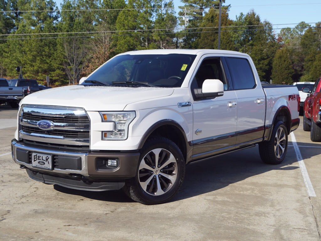 Used 2015 Ford F-150 King Ranch 4x4 Supercrew Cab Styles 4x4 King Ranch SuperCrew 5.5 ft. SB For Sale Oxford, MS