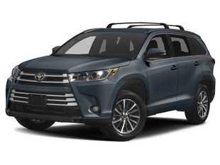 New 2019 Toyota Highlander XLE V6 SUV in Oxford, MS