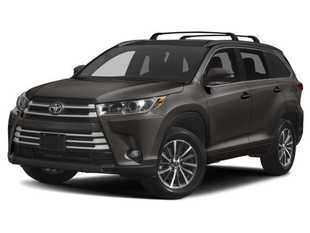 New 2019 Toyota Highlander XLE V6 SUV in Oxford, MS