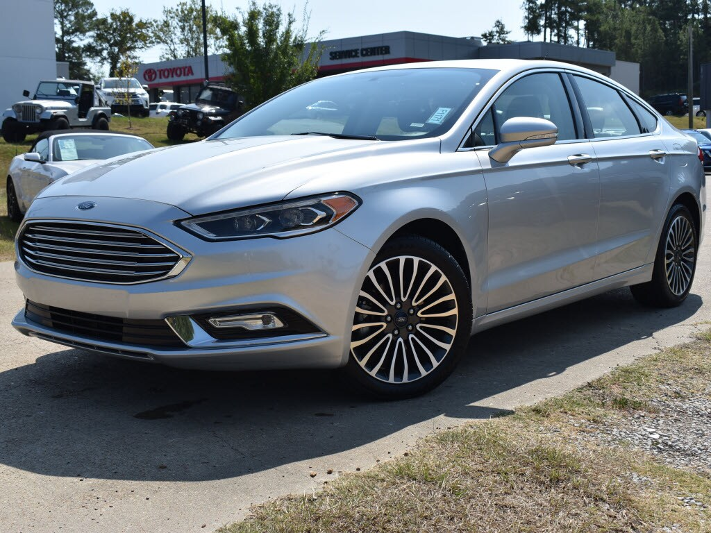 Used 2018 Ford Fusion Titanium All-Wheel Drive Sedan AWD Titanium Sedan For Sale Oxford, MS