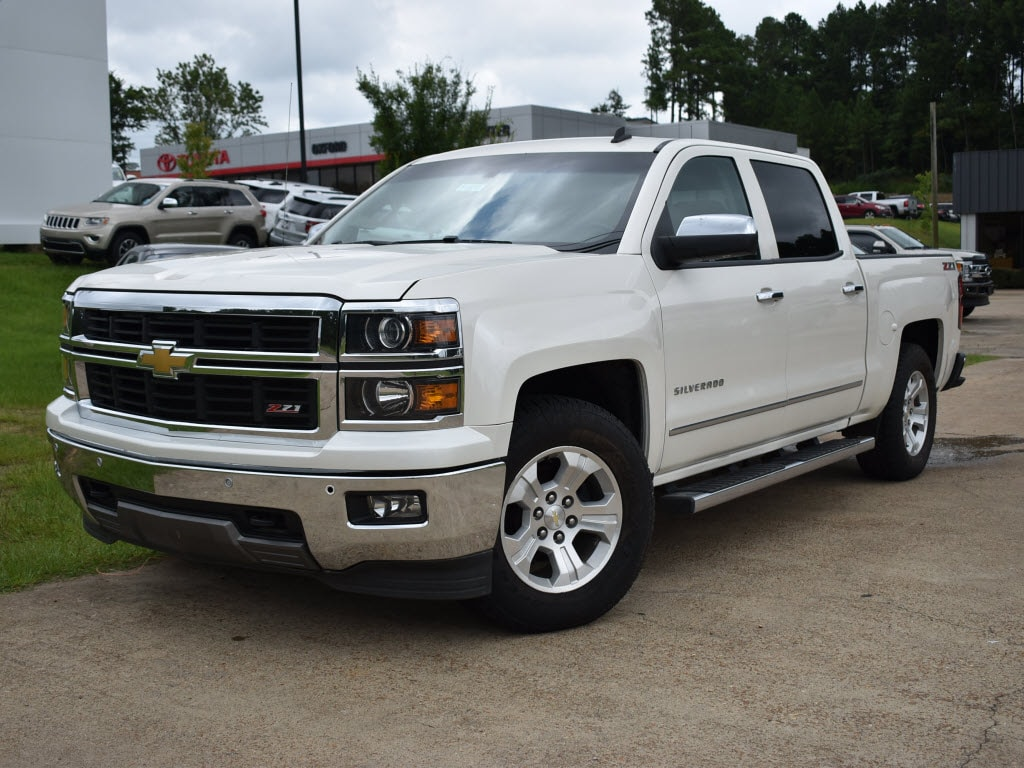 Used 2014 Chevrolet Silverado 1500 LTZ w/2LZ 4x4 Crew Cab 5.75 ft. box 4x4 LTZ Crew Cab 5.8 ft. SB For Sale Oxford, MS