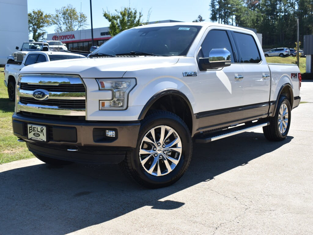 Used 2016 Ford F-150 HC 4x4 Lariat SuperCrew 5.5 ft. SB For Sale Oxford, MS