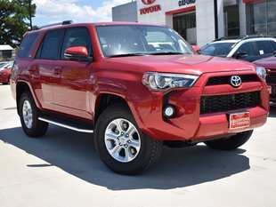 New 2019 Toyota 4Runner SR5 Premium SUV in Oxford, MS