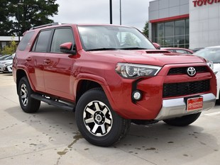 New 2019 Toyota 4Runner TRD Off Road SUV in Oxford, MS