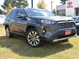 New 2019 Toyota RAV4 Limited SUV in Oxford, MS