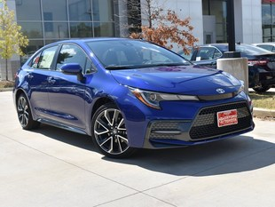 New 2020 Toyota Corolla SE Sedan in Oxford, MS