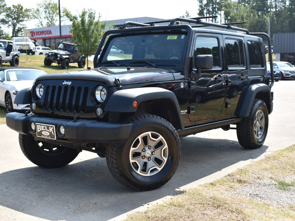 Used 2014 Jeep Wrangler Unlimited Rubicon 4x4 4x4 Rubicon SUV For Sale Oxford, MS