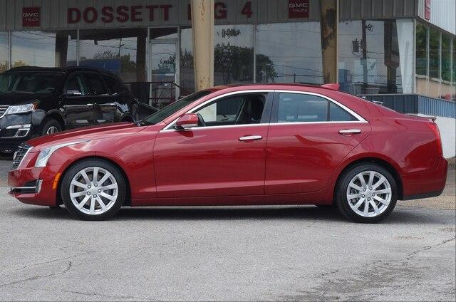 Pre-Owned 2018 Cadillac ATS Sedan 3.6L V6 RWD Premium Luxury
