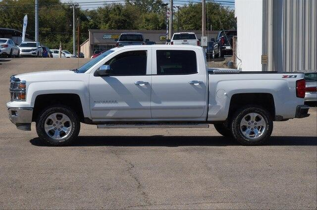 Pre-Owned 2014 Chevrolet Silverado 1500 Crew Cab Short Box 4-Wheel Drive LTZ w/2LZ
