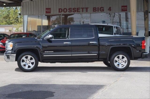 Certified Pre-Owned 2015 GMC Sierra 1500 Crew Cab Short Box 4-Wheel Drive SLT SLT Premium Package
