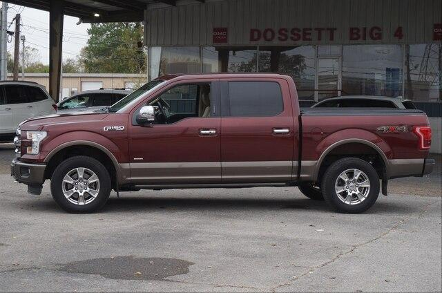 Pre-Owned 2015 Ford F-150 4WD SuperCrew 5-1/2 Ft Box Lariat