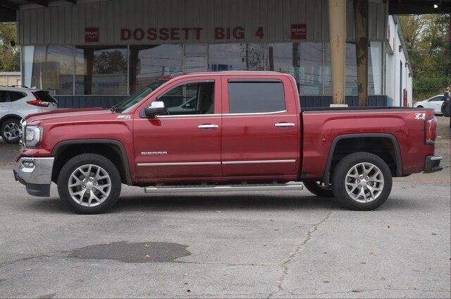 Pre-Owned 2018 GMC Sierra 1500 Crew Cab Short Box 4-Wheel Drive SLT